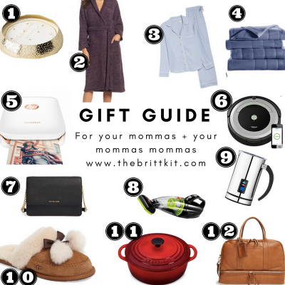 MOM + DAD GIFT GUIDES