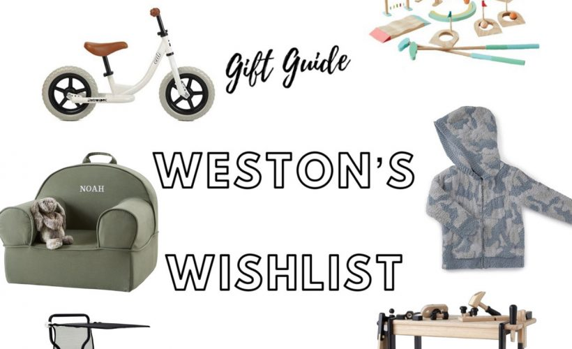 GIFT GUIDE: WESTON'S WISHLIST